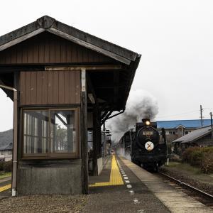 宮野駅通過とおまけショット(山口線)