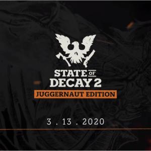 「State of Decay 2:Juggernaut Edition」が発表!Steam版クロスプレイやグラフィック改善など。