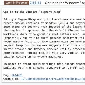 Windows 10 May 2020 Updateでメモリ管理が改善、Chromeは最大27%RAM使用を削減。