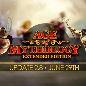 Age of Mythologyがアップデート、新マップやチートコードが追加。