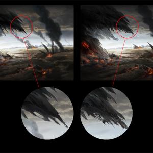 """Halo 3、ミッション""""コルタナ""""のあの一枚絵がアップグレードされるらしい。"""