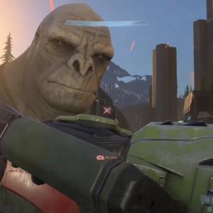 """Halo Infiniteのネットミーム""""クレイグ・ザ・ブルート""""が343 Industriesに認められる。"""
