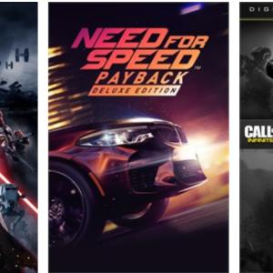 【今週のセール】「CODMW/IW」「Need for Speed Payback」などが特価に。