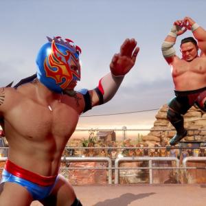 Xbox One「WWE 2K バトルグラウンド」が発売!人気レスラーがコミカル&ド派手にバトル。