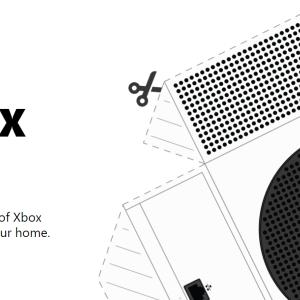 Xbox Seires X/Sペーパークラフトが公式サイトで配布!作って本物の大きさを見てみよう。