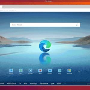 Microsoft Edge for Linuxプレビュー、10月配信へ。