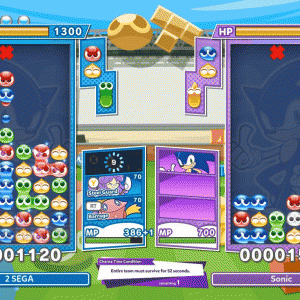 ぷよぷよテトリス2が無料アップデート、協力ボスバトル、ソニック参戦など。
