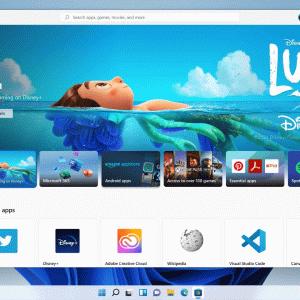 Windows 11ではMicrosoft Storeが新しく!使いやすく、高速に。