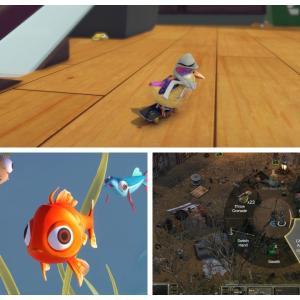 Xbox本日発売「SkateBIRD」「DustWind」「I Am Fish」