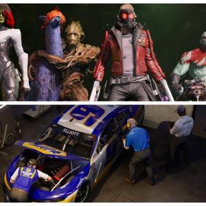 Xbox本日発売『マーベルガーディアンズオブザギャラクシー』『NASCAR 21』