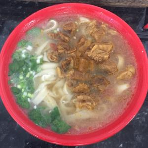 進化した中華麺@エジンバラ