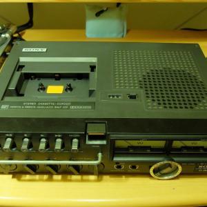 カセットデッキの修理(デンスケ SONY TC-3000SD)と生録チャレンジ