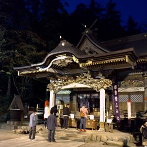 11月15日、寶登山神社へ