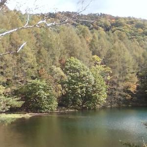 10月7日蓼科の魅惑の池