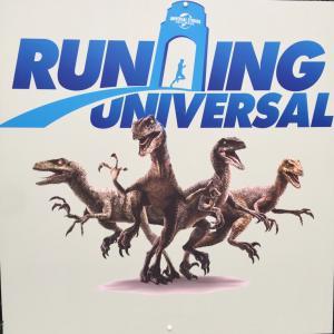 universal studio を走る