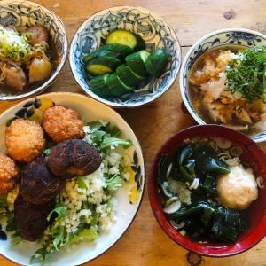 暑い日の夕食