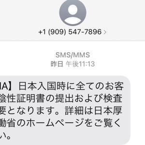 日本への行き方(PCR検査)