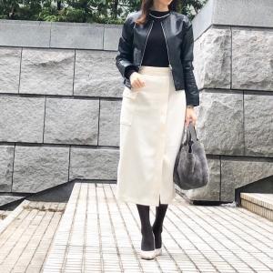 【GU】GUに見えない!!と驚かれたスカート/3枚愛用ニットソー
