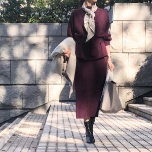 美シルエット&高見え!!去年から人気なレビュー絶賛セットアップ
