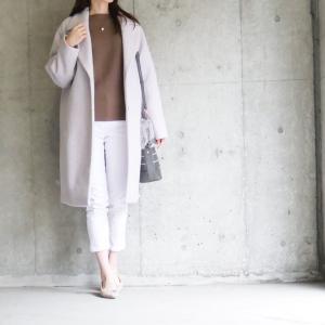 【GU】今から春まで使えるアラサーでも着やすいカラーコート
