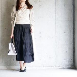 【UNIQLO】レビューでも人気な着痩せスカート