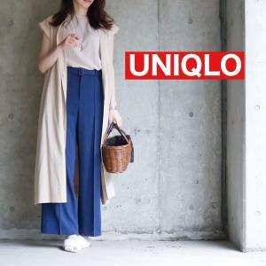 【UNIQLO】美脚力に惚れ惚れ♡たるんだ下半身でもOKなパンツ