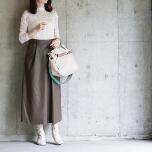 【GU】これで2,000円台はすごい!手軽にチャレンジできる高見えレザースカート
