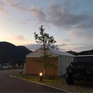 モンベル五ケ山ベースキャンプの一日