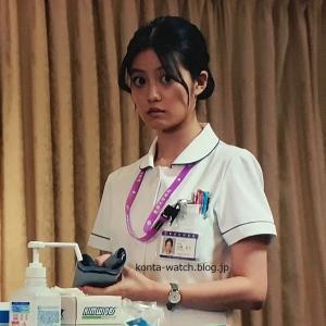 今田 美桜 ロースフィールド ニューウェストビレッジ  オリーブグリーン 『ドクターX ~外科医・大門未知子~』より