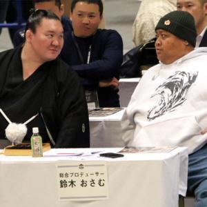 ■福岡初日 白鵬、危険な相手北勝富士を粉砕