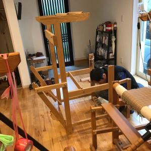 7台目の織り機