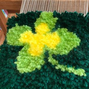 ノッティング織りで可愛いお花