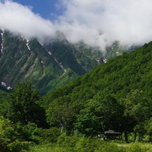 快晴の荒沢岳