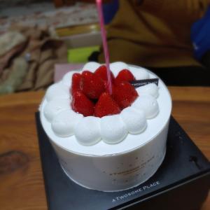 シプモと誕生日ランチ