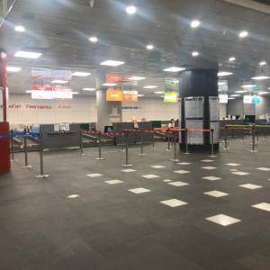 都心ターミナル→仁川から帰国。初めてのJIN AIR✈︎