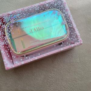 メガ割購入品 // d'Alba の可愛すぎるセット