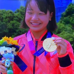 東京五輪★最年少13歳の金メダリスト西矢椛さんおめでとう