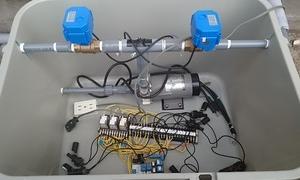 雨水をトイレに利用するための準備 制御BOX設置編
