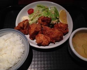 炎(えん)(京橋ランチブログ)唐揚げ定食
