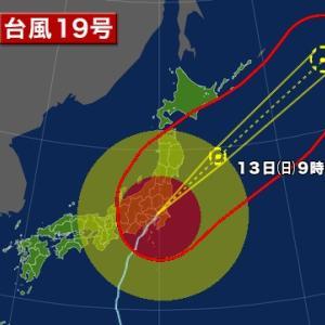 台風19号 ハギビス