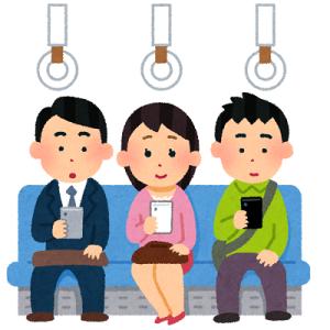 電車内での携帯電話利用率の実態統計2019/6