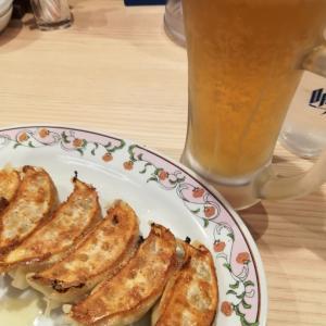 みんな大好き!ビールと餃子のゴールデン・ペア @ 餃子の王将