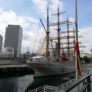 朝の横浜の風景に癒されて・・・