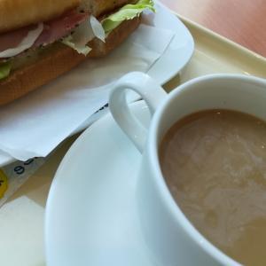 ドトールコーヒーで、ひと休み