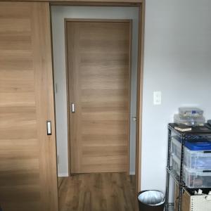 開きドアを引き戸に変更 シニア夫婦のリフォーム(その10)