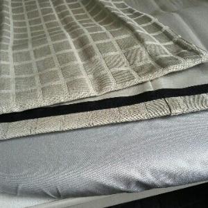 新しいモノを買わなくても少しの工夫で生活改善。100均の裾上テープとアイロンで簡単、カーテンの丈補正。