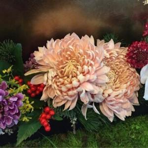 お正月用の生花を販売します