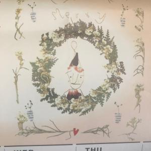 長府製作所カレンダー!歳時記カレンダーより 12月