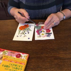 押し花セラピー滋賀県に先生が誕生しました