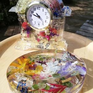 お花満開の美しい雑貨たち ボタニック雑貨、通信レッスンでディプロマご取得!